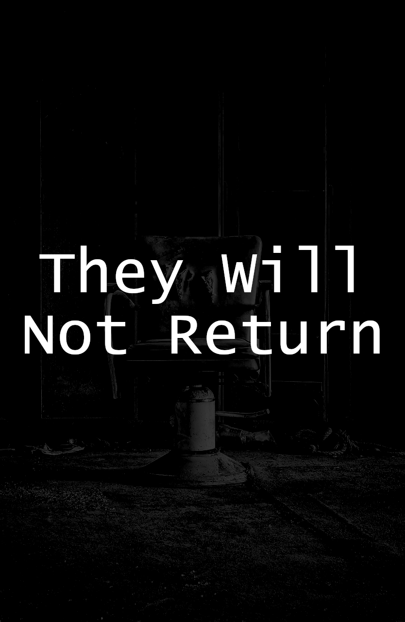 THEY WILL NOT RETURN